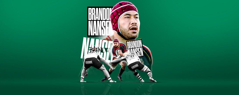 Brandon Nansen will join Northampton Saints for the 2021/22 season