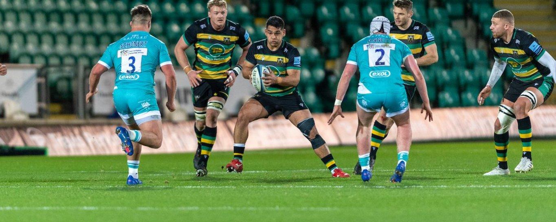 Sam Matavesi of Northampton Saints