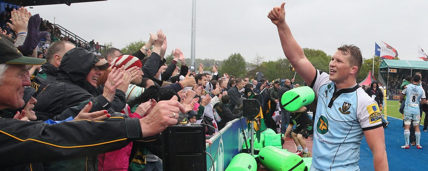 Dylan Hartley played 251 times for Saints