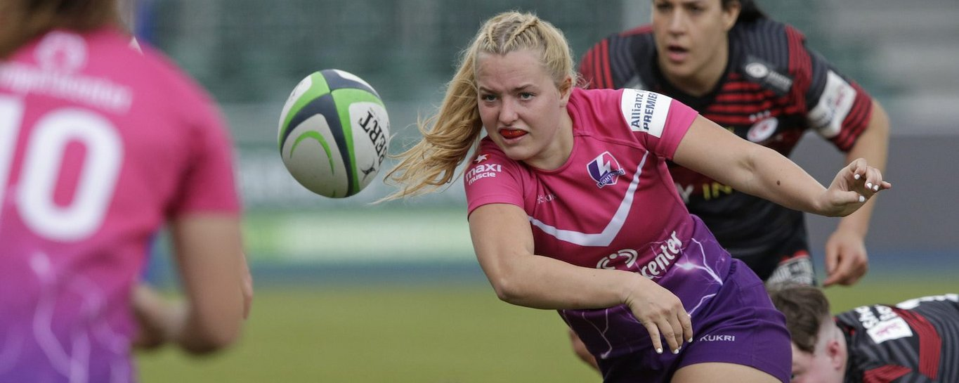 Loughborough Lightning lost out to Saracens