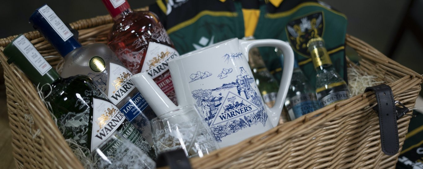 Terms & Conditions | WIN a Warner's Distillery Hamper with Northampton Saints