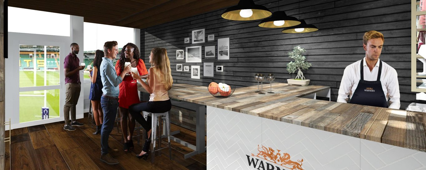 Northampton Saints launch brand-new Warner's Experience hospitality package