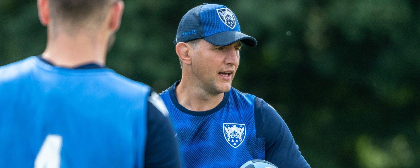 Saints forwards coach Phil Dowson