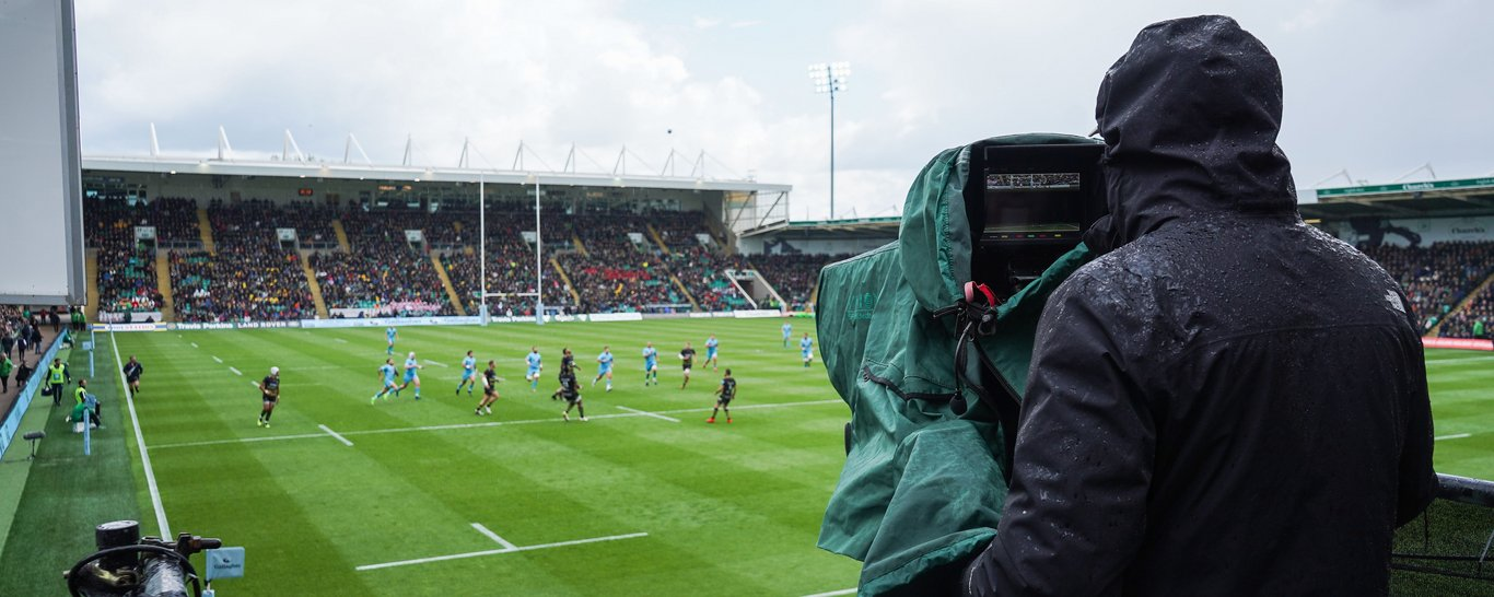 Channel 5 to broadcast Northampton Saints' clash against Exeter.