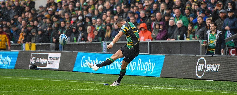 Dan Biggar of Northampton Saints