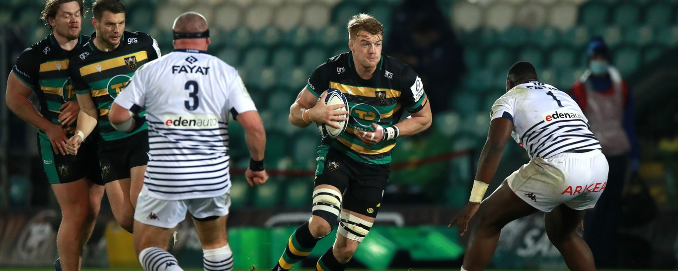 David Ribbans of Northampton Saints has been nominated for Player of the Month for December 2020.