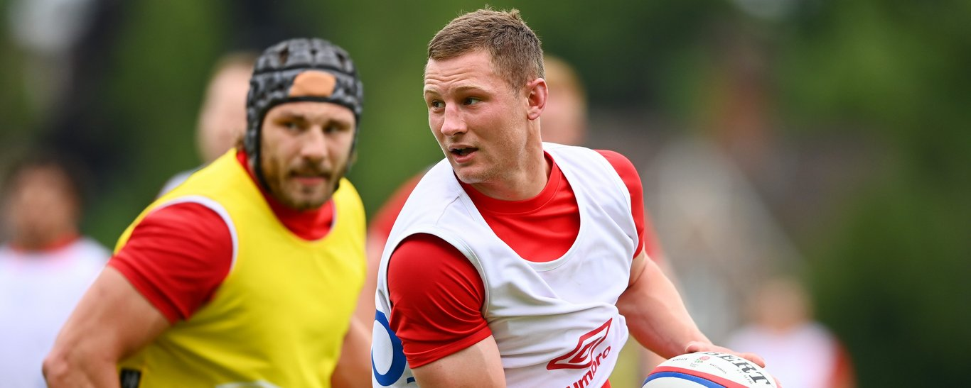 Northampton Saints' centre Fraser Dingwall has been recalled to the England training squad