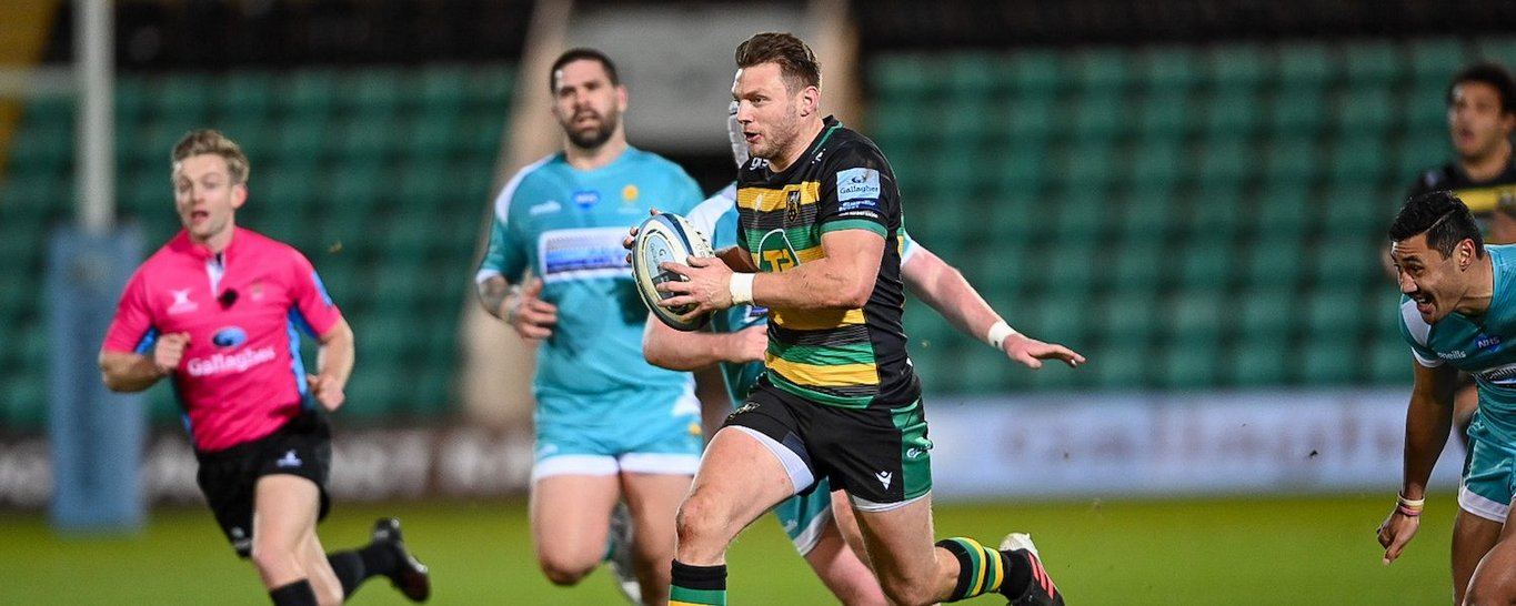 Dan Biggar has been nominated for Northampton Saints' Player of the Month award for December 2020.