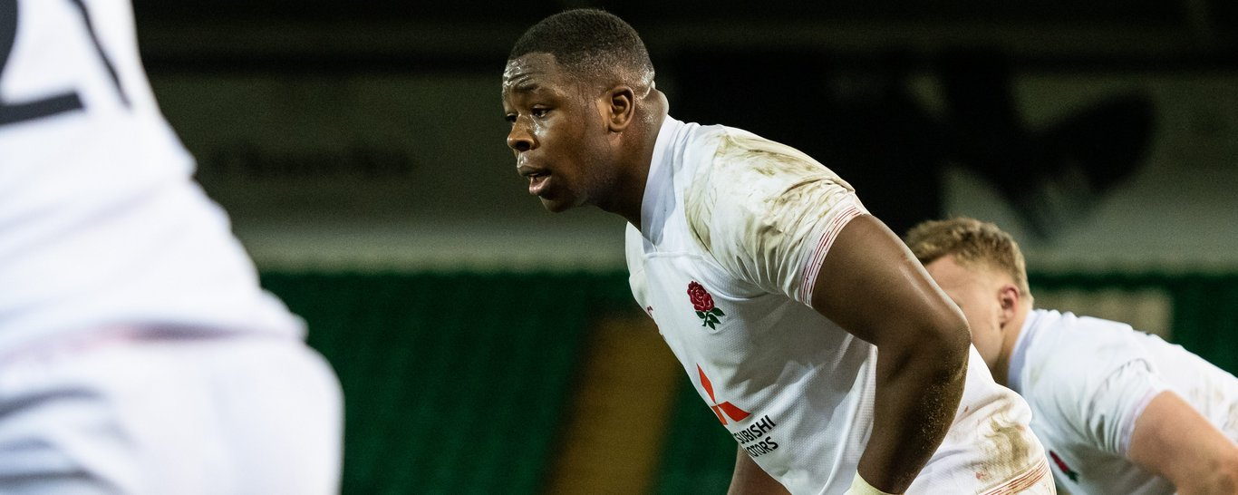 Northampton Saints' Manny Iyogun will start for England U20.