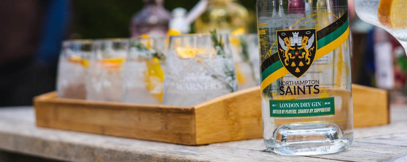 Saints and Warner's Distillery have launched a limited-edition Gin