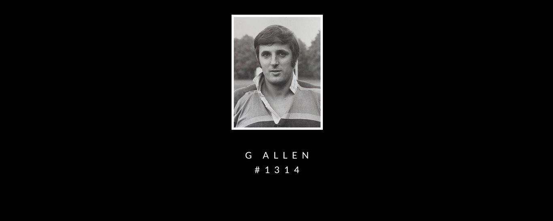 Gerry Allen was Saint #1314
