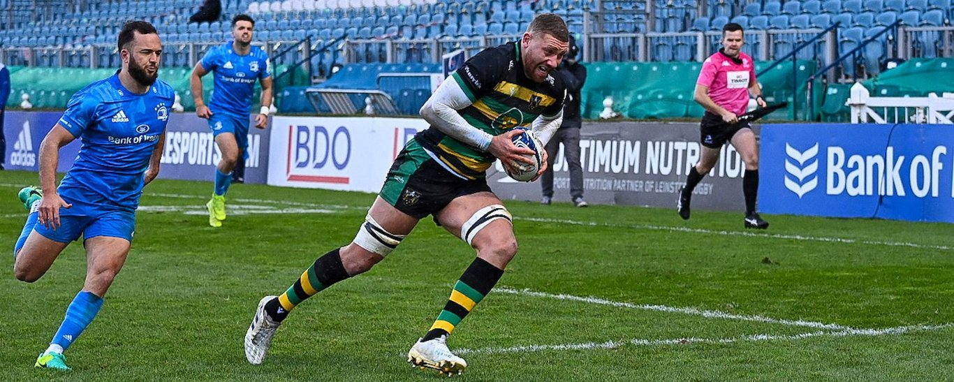 Nick Isiekwe has been nominated for Northampton Saints' Player of the Month for December 2020.