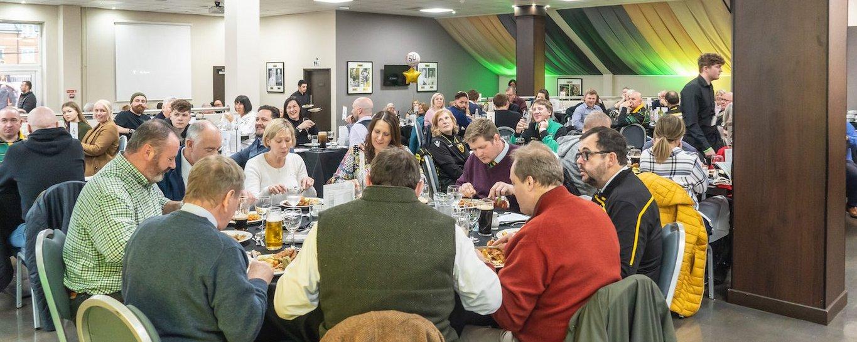 Enjoy the Heroes Restaurant at Franklin's Gardens