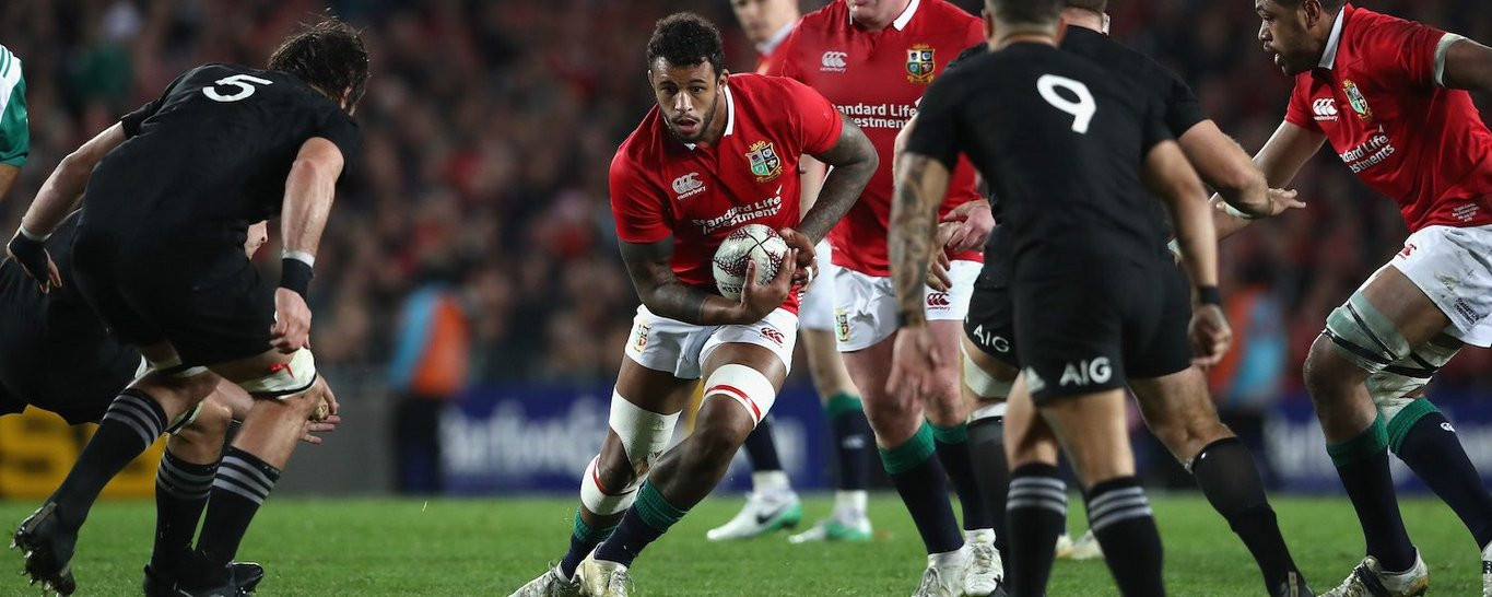 Saints' Courtney Lawes has twice been selected by the Lions