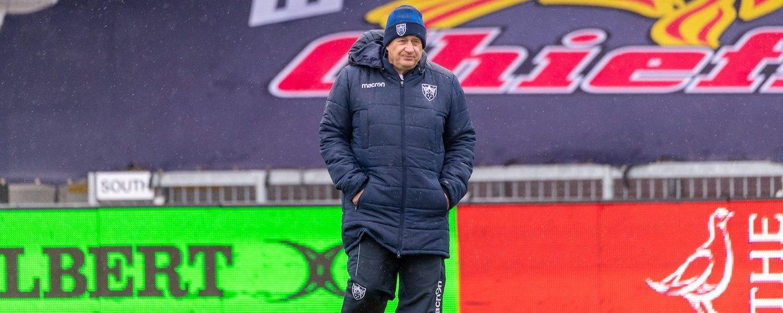 Northampton Saints' Director of Rugby Chris Boyd