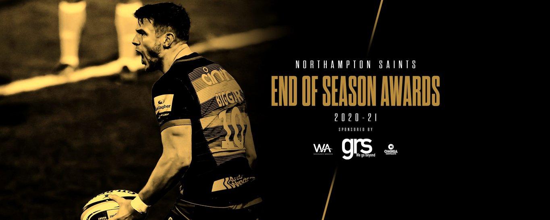 Northampton Saints' End of Season Awards are on June 8