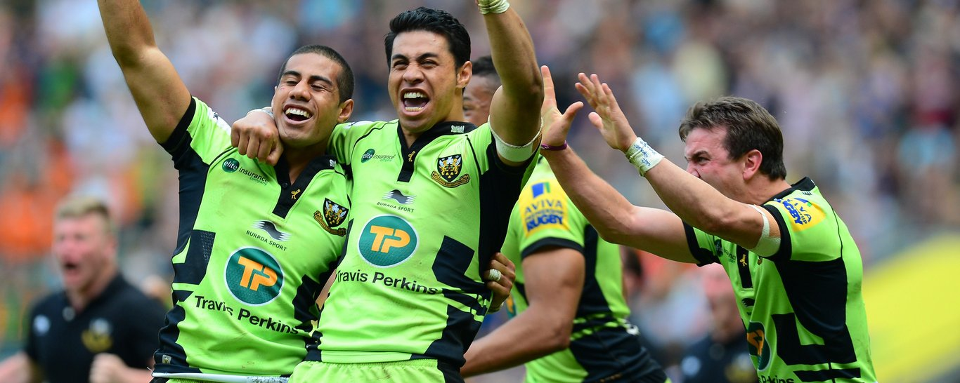 The Pisi brothers celebrate
