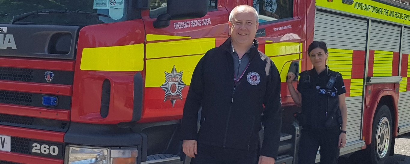 Stephen Mold, Northamptonshire Police, Fire and Crime Commissioner