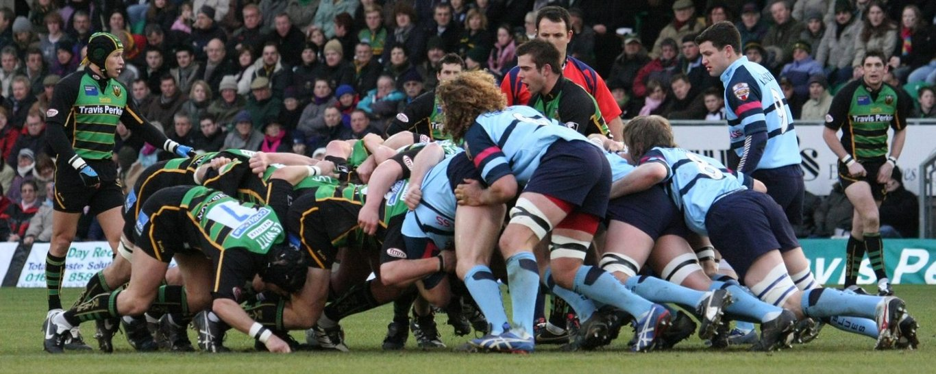 Saints and Bedford face off at Franklin's Gardens