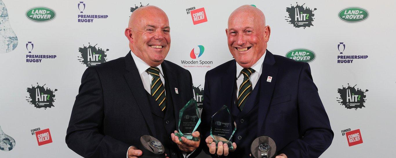Doug Ferguson and Mel Hayward at the HITZ awards