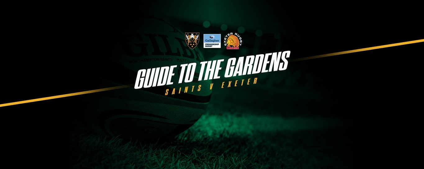 Northampton Saints take on Exeter Chiefs at Franklin's Gardens on Sunday 6 June.