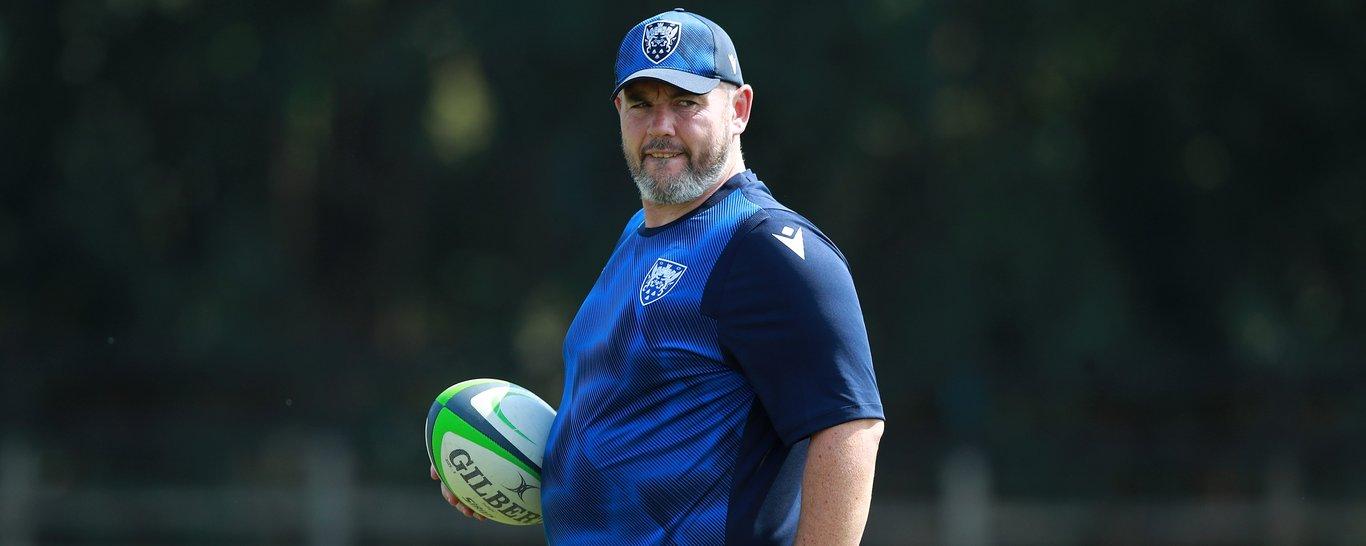 Saints' scrum coach Matt Ferguson