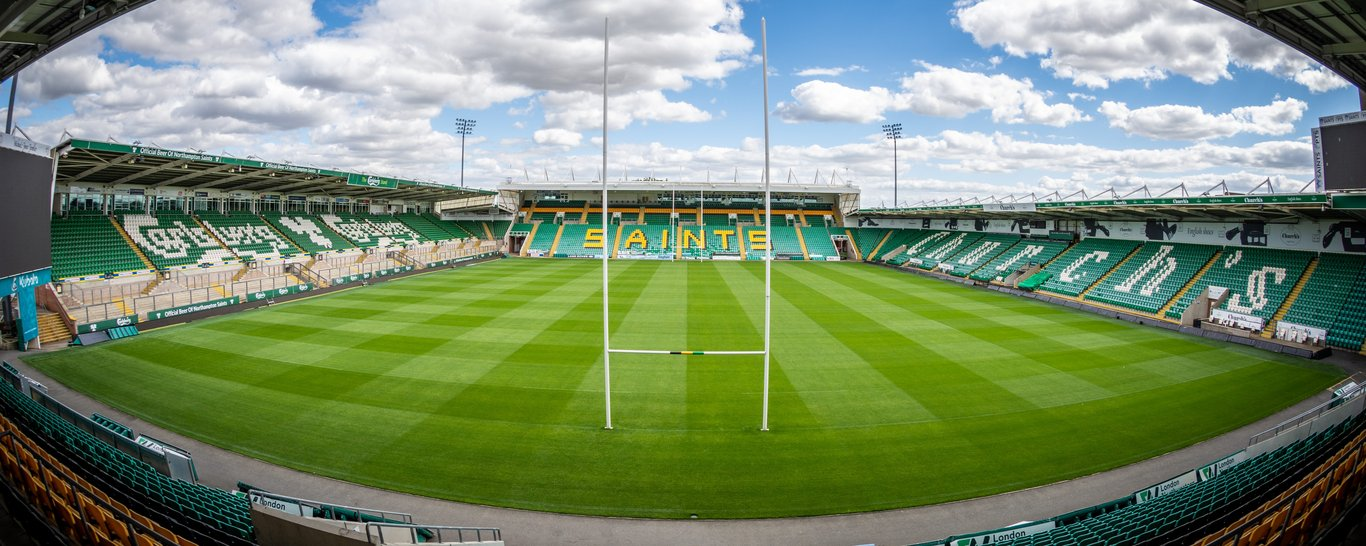 Franklin's Gardens is home to Northampton Saints