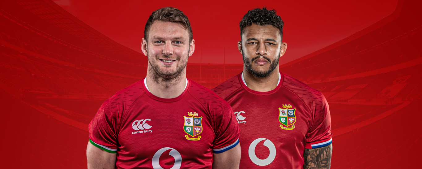 Saints duo Dan Biggar and Courtney Lawes have both been named in the matchday squad for the British and Irish Lions match against Japan.