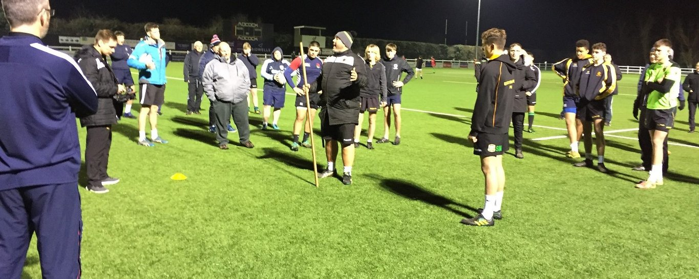 Northampton Saints' Coach Education programme is devised to improve the rugby coaching throughout the region.