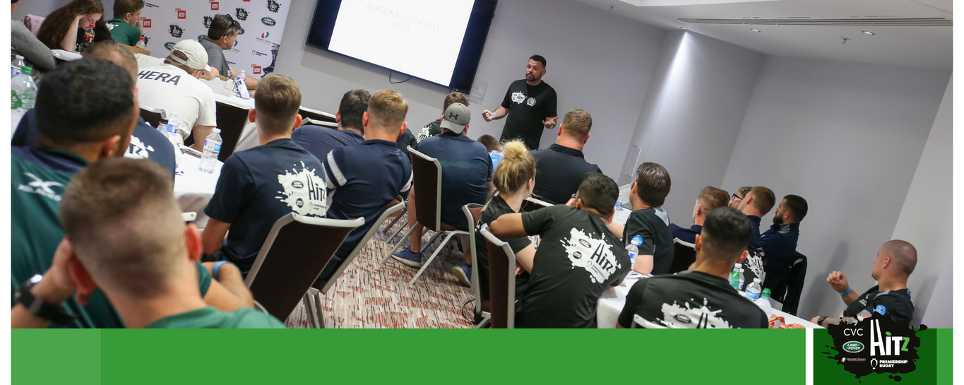 Premiership Rugby and Northampton Saints' HITZ programme helps young people to get back into education.