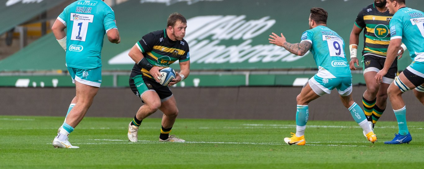 Northampton Saints' captain Alex Waller