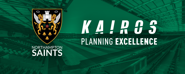 Kairos are a new partner of Northampton Saints