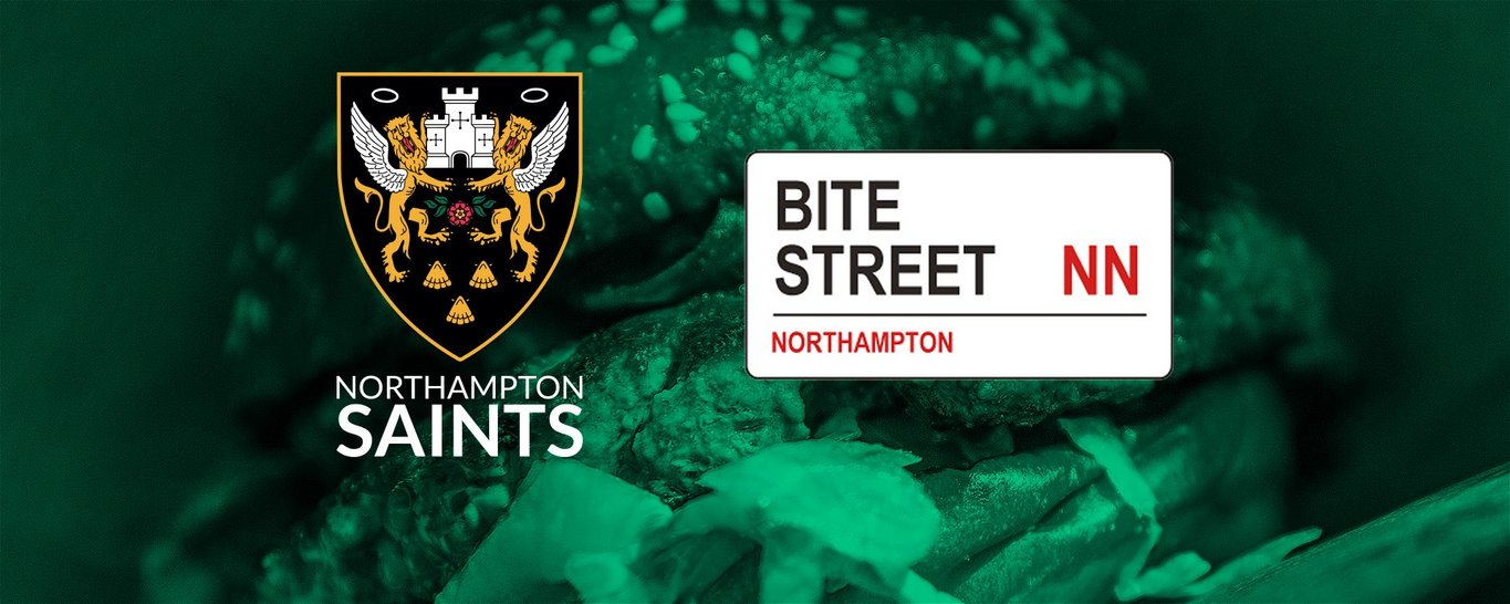 Bite Street will link up with Northampton Saints at Franklin's Gardens