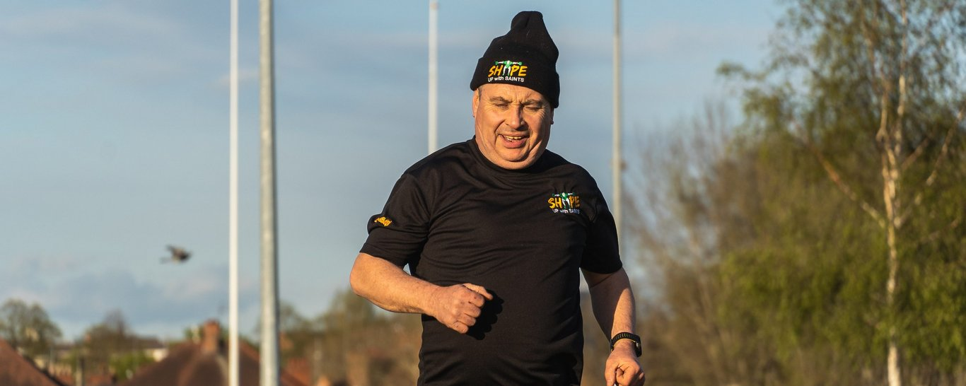 Join Shape Up With Saints today and get fit with Northampton Saints