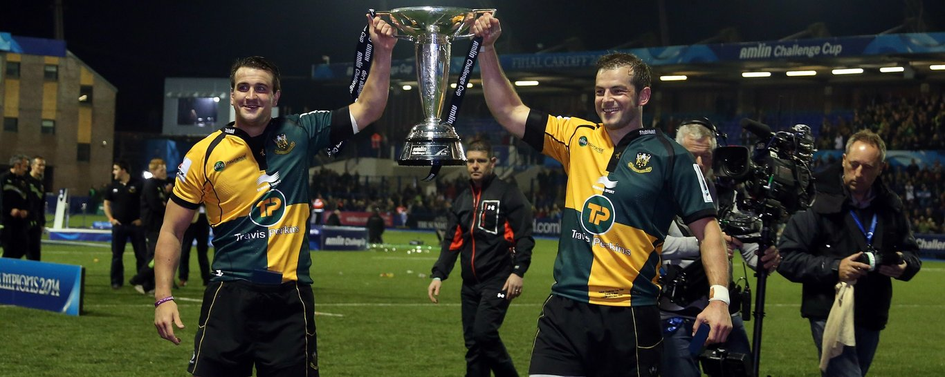 Saints beat Bath in the 2014 Challenge Cup Final