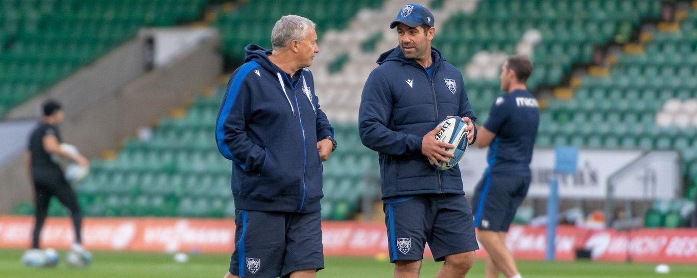 Ian Vass is Defence Coach at Northampton Saints