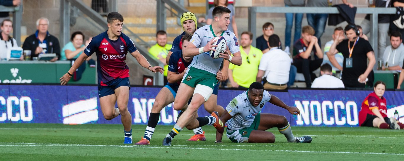 Tommy Freeman made his debut in the Premiership Rugby 7s