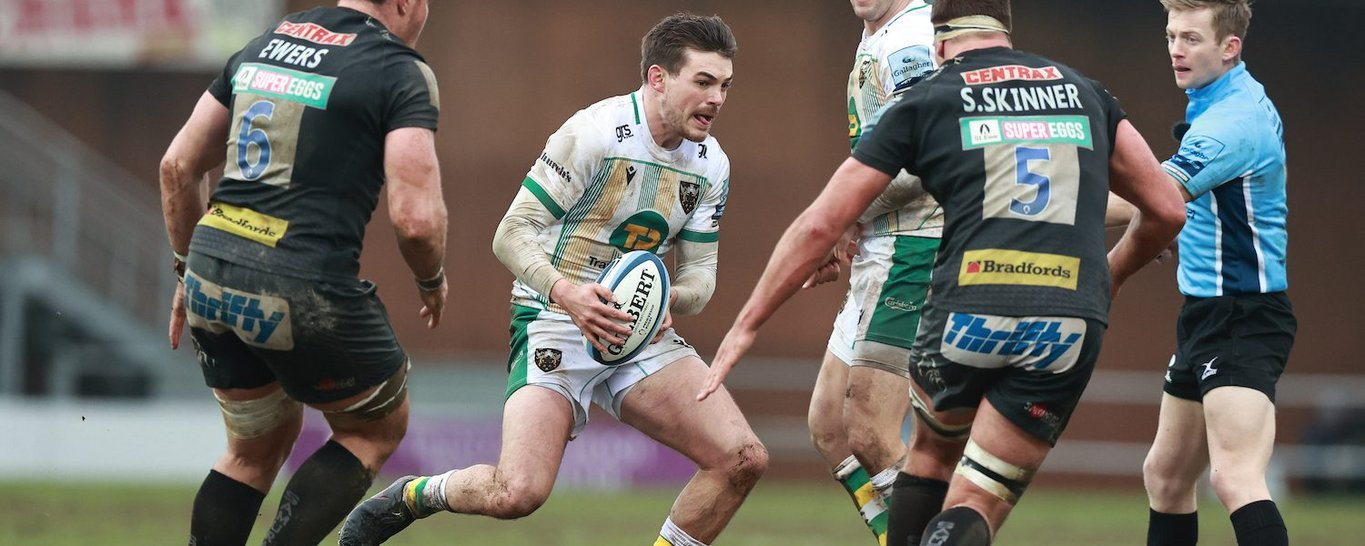 George Furbank of Northampton Saints