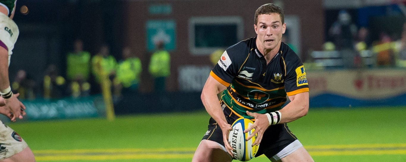 Northampton Saints' George North