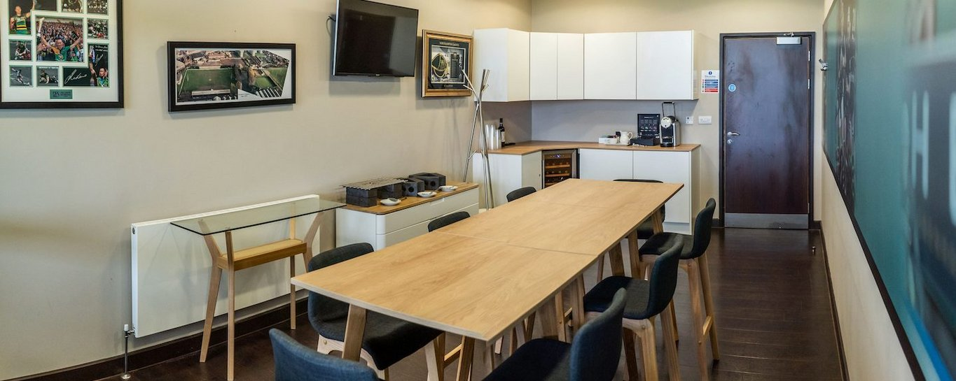 Enjoy our Executive Boxes on matchday at Franklin's Gardens