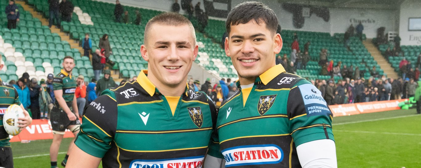 Ollie Sleightholme and Connor Tupai