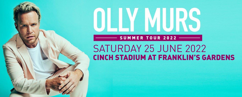 Olly Murs will headline cinch Stadium at Franklin's Gardens