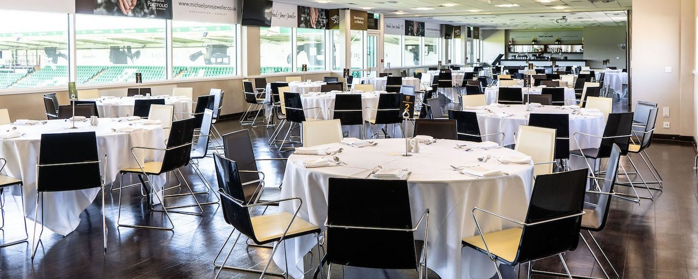 Enjoy the Michael Jones Champions Suite at Franklin's Gardens