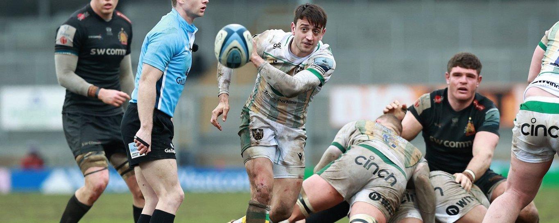 Alex Mitchell of Northampton Saints