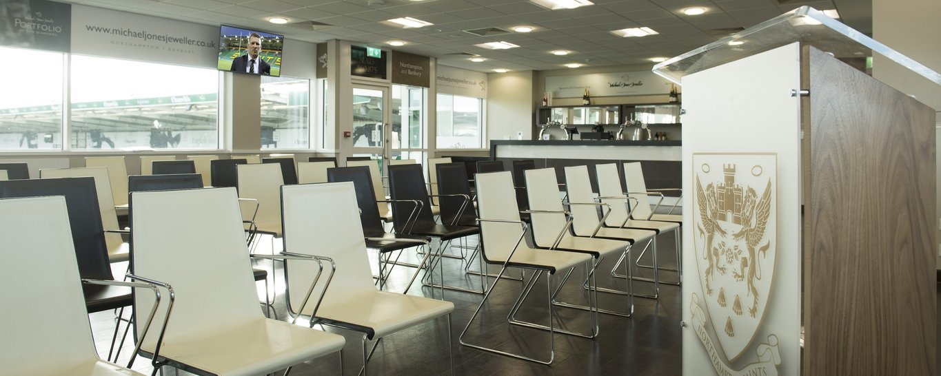 Meeting Rooms are available at Franklin's Gardens, Northampton | Meeting Room Hire