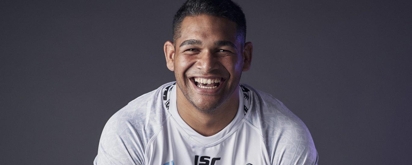 Sam Matavesi of Fiji
