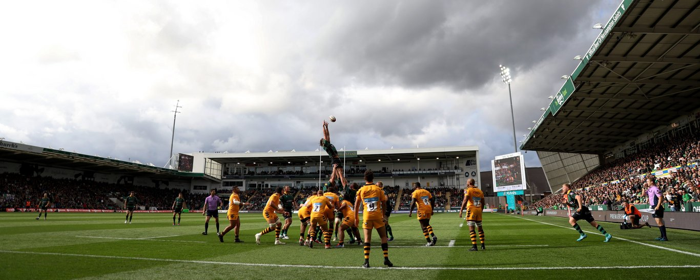 Saints take on Wasps at Franklin's Gardens