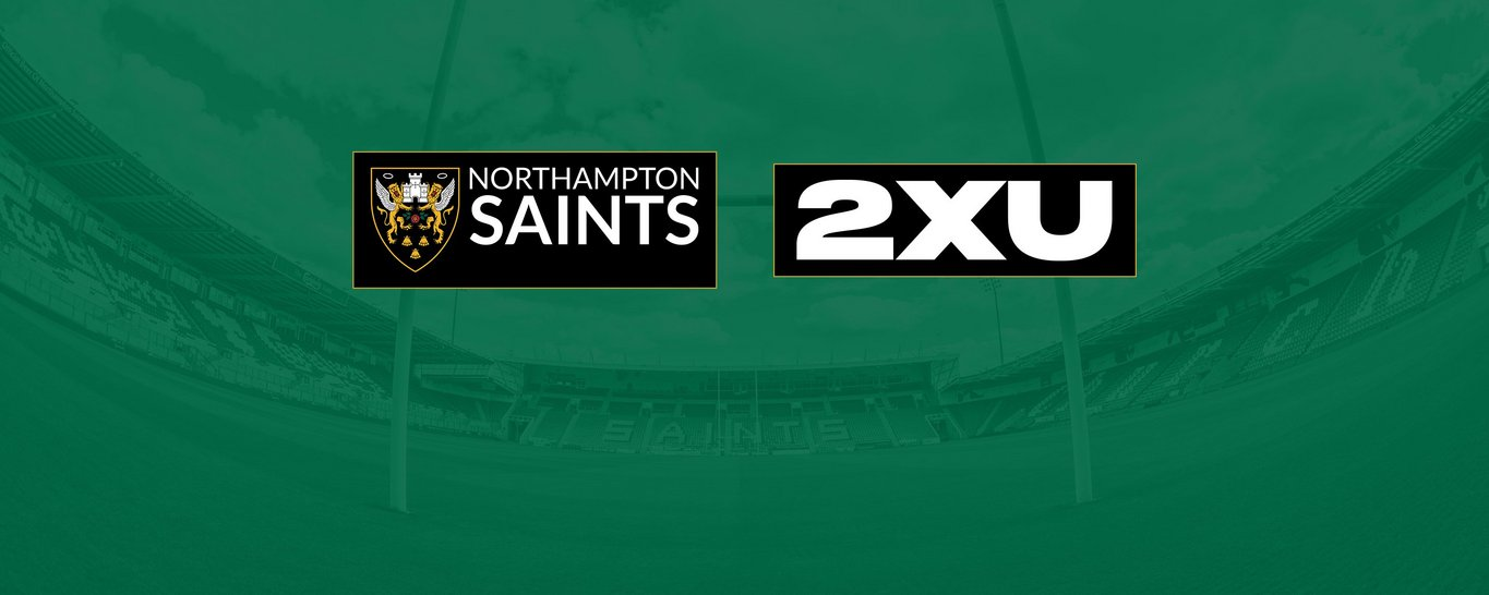 Northampton Saints partner with 2XU as their new Compression Supplier