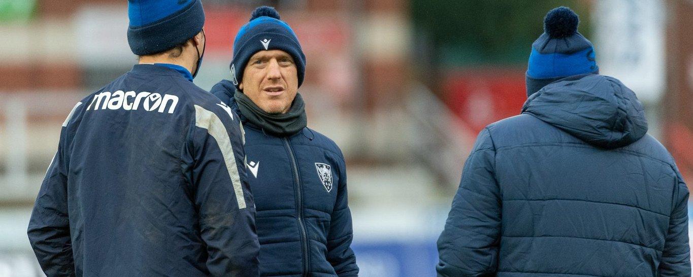 Sam Vesty is attack coach at Northampton Saints