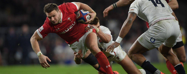 Saints' Dan Biggar in action for Wales